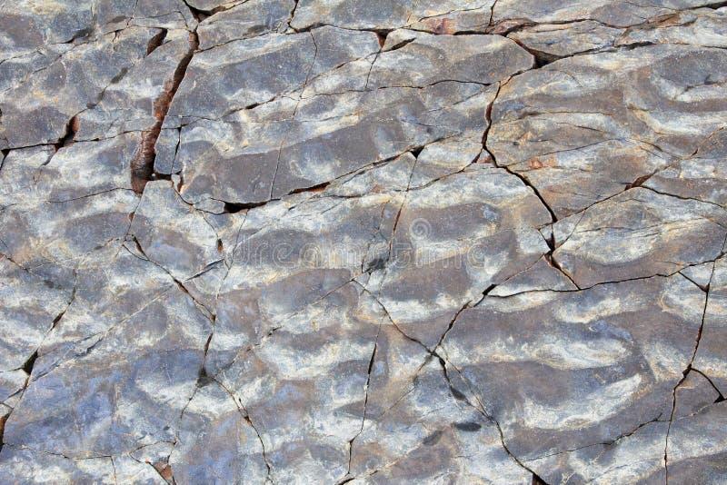 Schaukeln Sie die Platte, die weg vom Gletscher am Roddenes-Naturreservat, Lakselv, Norwegen, Europa versandet wird lizenzfreies stockbild