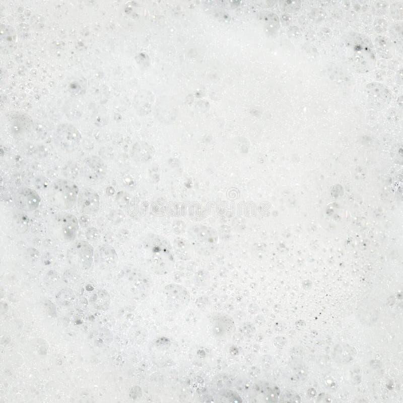 Schaum-nahtloses Muster stockfotografie