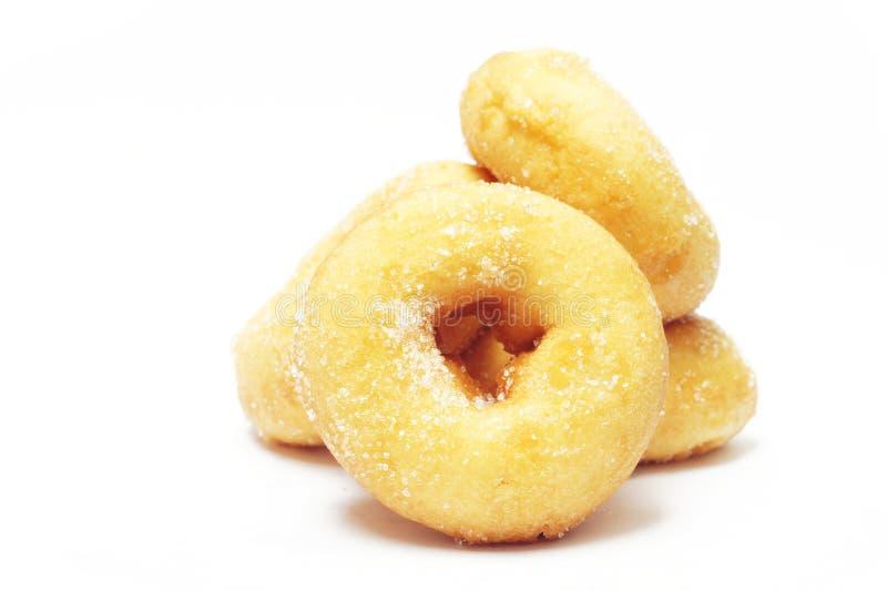 Schaumgummiringe mit Zucker stockfotografie