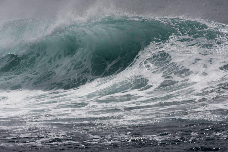 Schaumige Welle lizenzfreies stockfoto