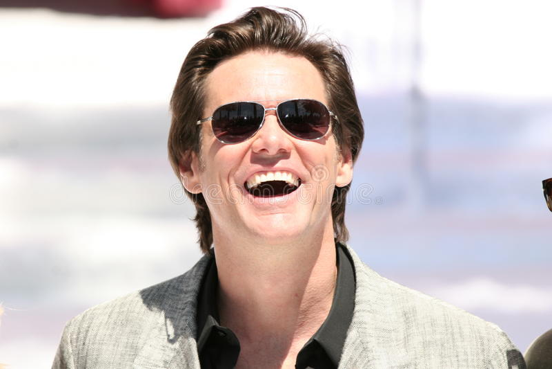Schauspieler Jim Carrey lizenzfreie stockfotos