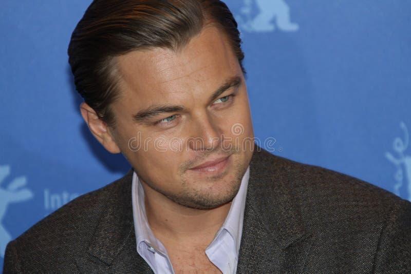 Schauspieler Leonardo DiCaprio lizenzfreie stockfotografie