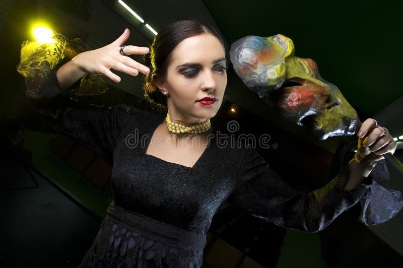 Schauspielerin stockfoto
