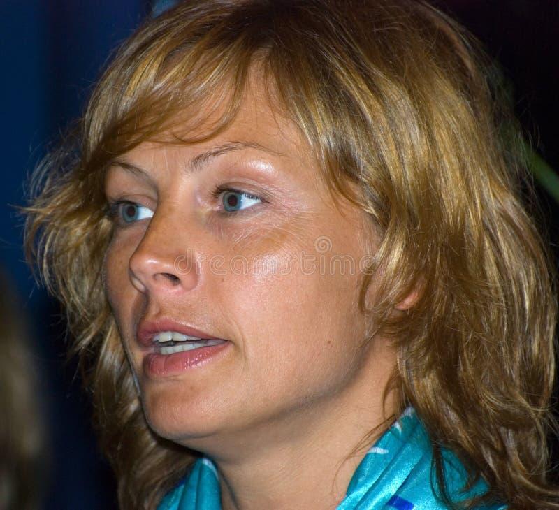 Schauspielerin Alena Babenko stockfotos