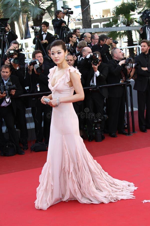 Schauspielerin Gianna Jun lizenzfreie stockfotos