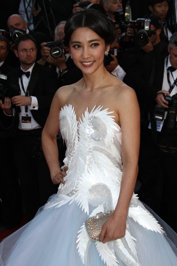 Schauspielerin Li Bingbing lizenzfreies stockfoto