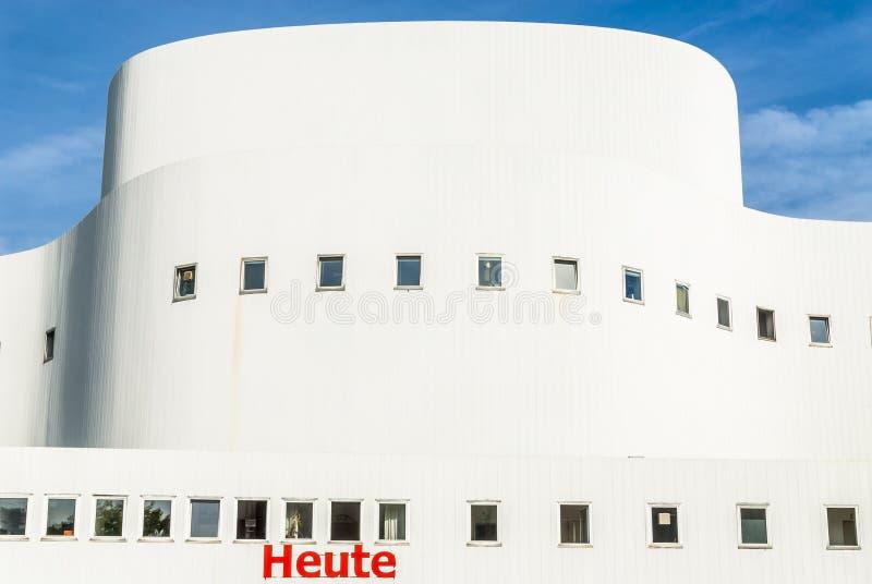 Schauspielhaus DÃ ¼ sseldorf στοκ φωτογραφίες με δικαίωμα ελεύθερης χρήσης
