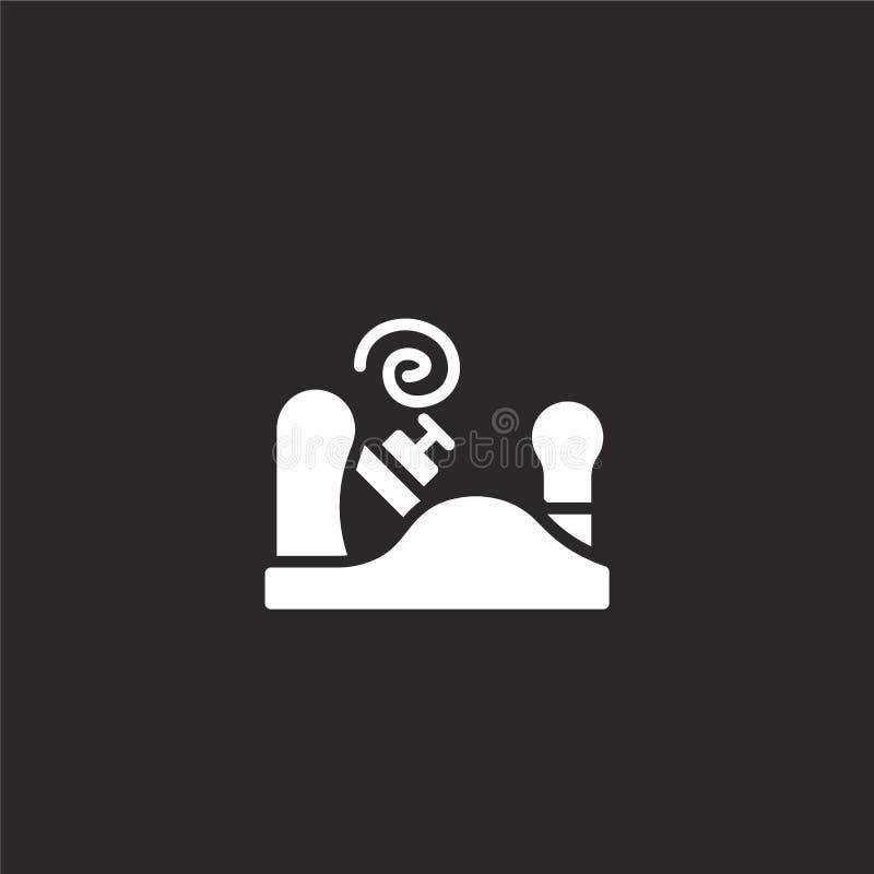 schavend pictogram Gevuld schavend pictogram voor websiteontwerp en mobiel, app ontwikkeling schavend pictogram van gevulde timme royalty-vrije illustratie