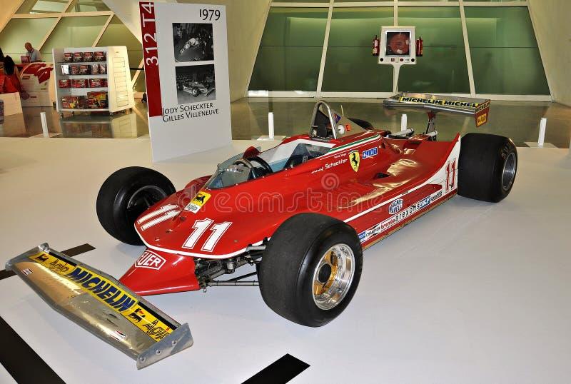 Scheckter jody de Ferrari photographie stock