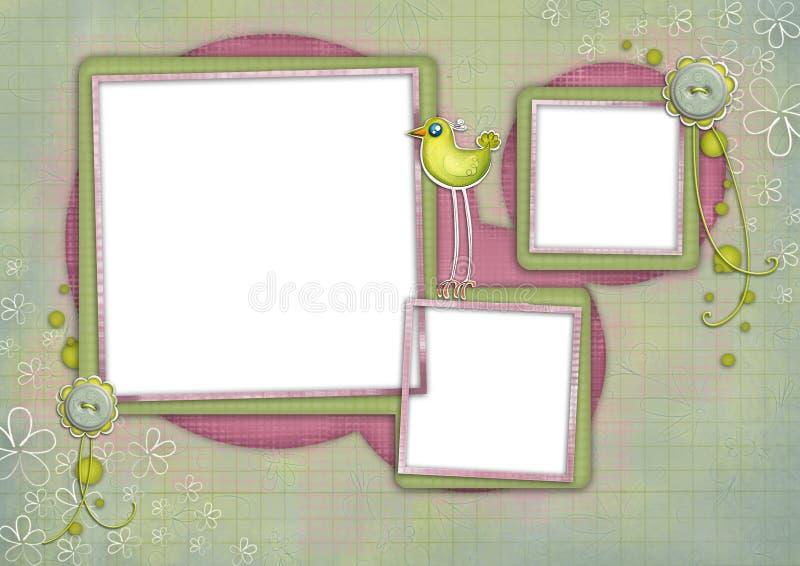 Scheda 07 dei bambini royalty illustrazione gratis