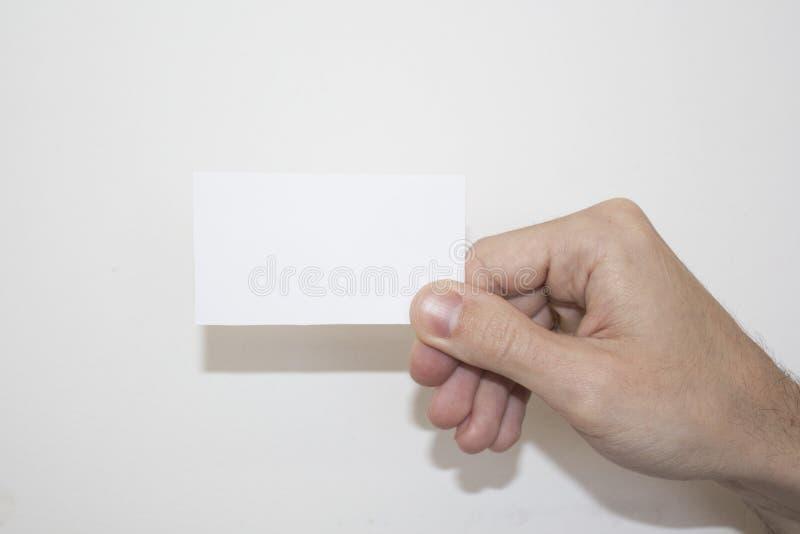 scheda fotografia stock
