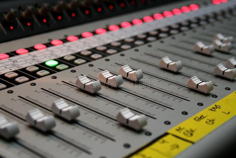 Scheda audio immagini stock