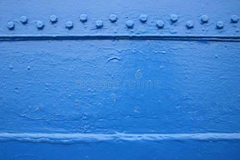 Scheda blu fotografia stock