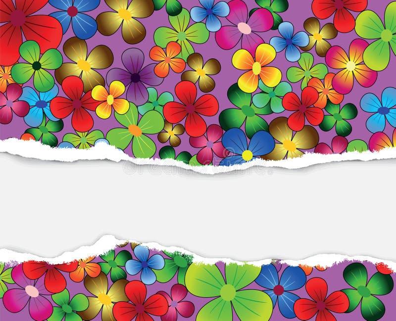 Scheda Colourful fotografia stock