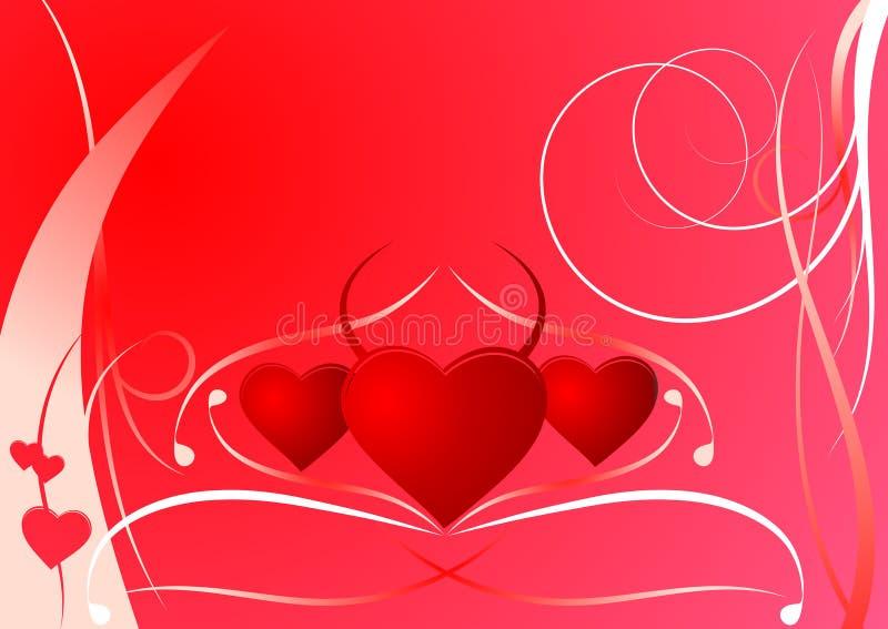 Download Scheda Del Biglietto Di S. Valentino Illustrazione Vettoriale - Illustrazione di scheda, vettore: 3877786