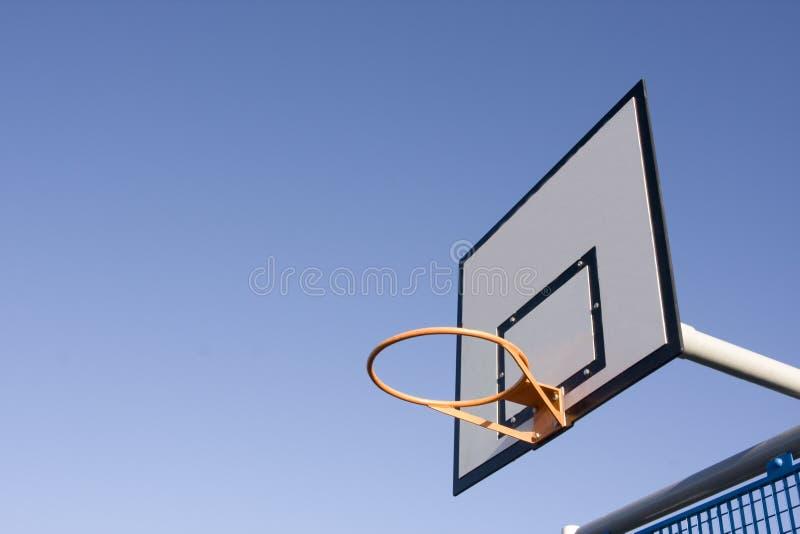 Scheda del cerchio di pallacanestro immagine stock