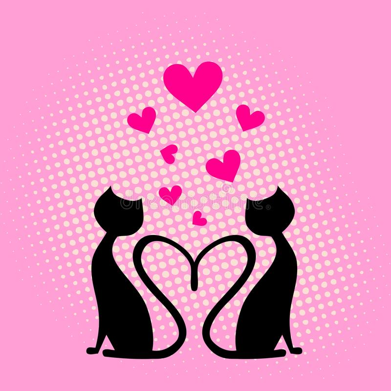 Scheda del cuore di amore. immagini stock libere da diritti