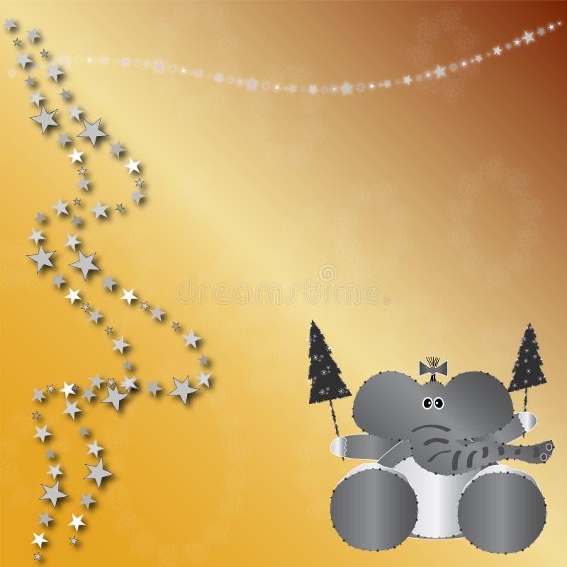 Download Scheda Dell'animale Di Natale Illustrazione di Stock - Illustrazione di carattere, arte: 7319027