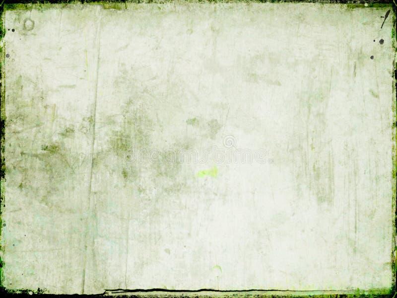 Scheda dell'annata illustrazione di stock