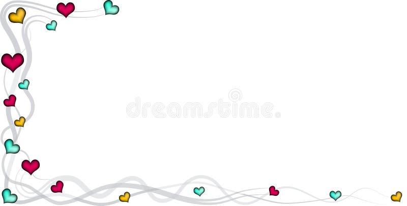 Scheda dell'invito illustrazione vettoriale