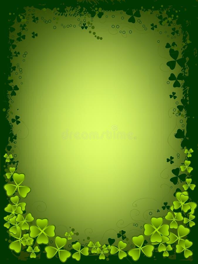 Scheda di giorno della st Patrick immagine stock