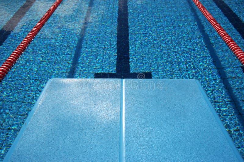 Scheda di immersione subacquea immagini stock libere da diritti