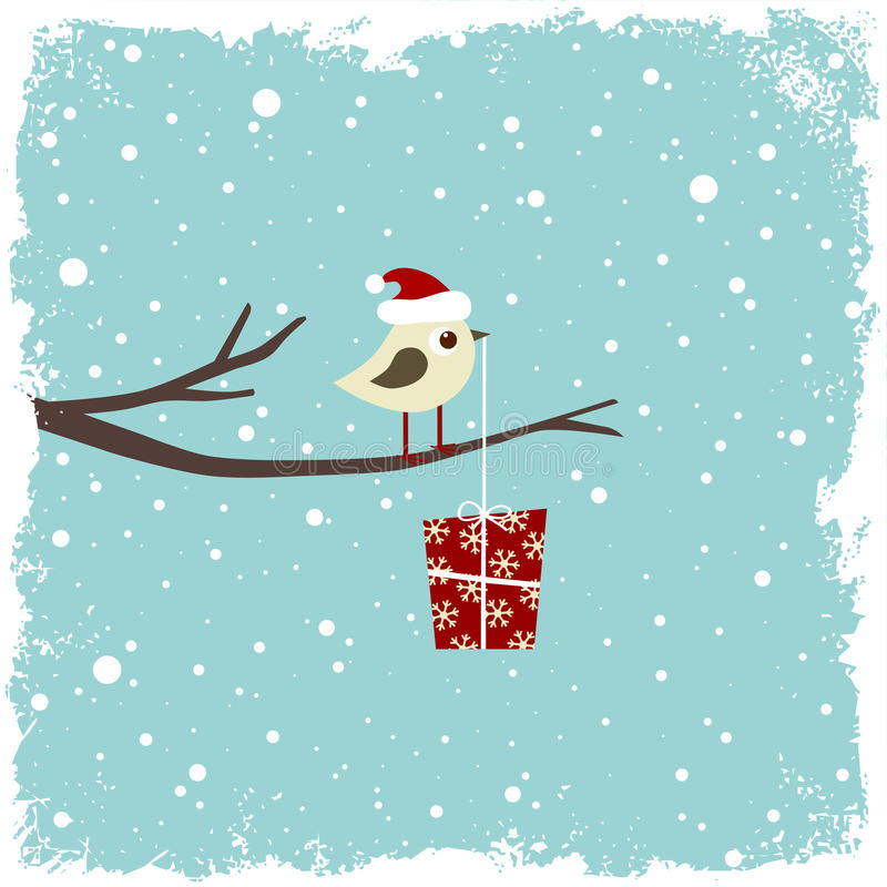 Scheda di inverno illustrazione di stock