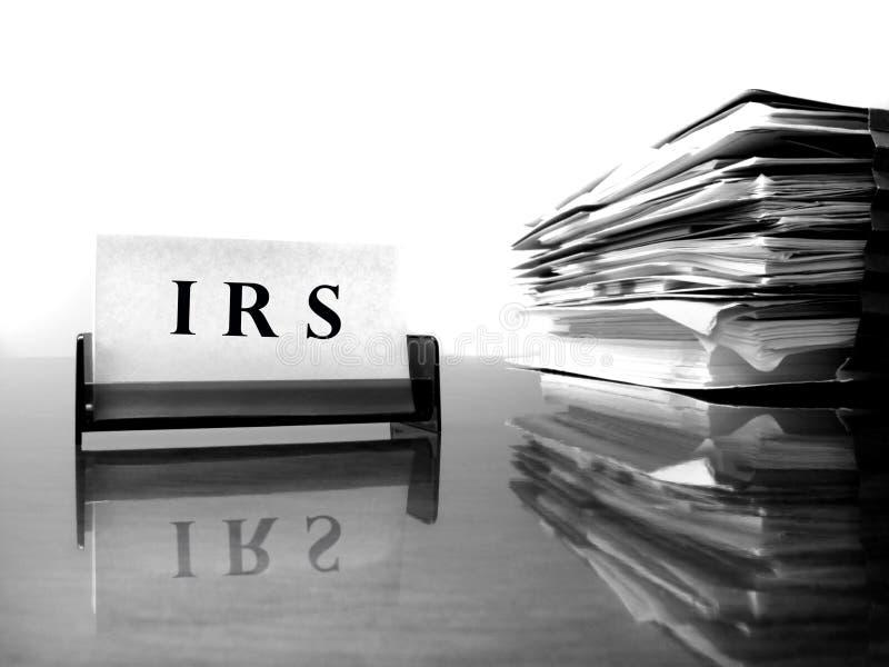 Scheda di IRS con i registri fiscali