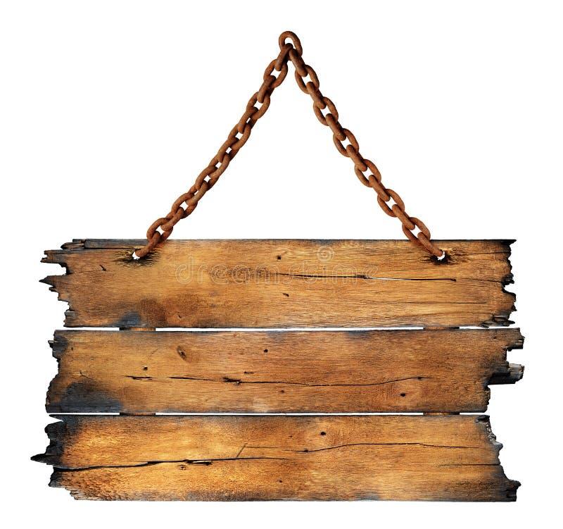 Scheda di legno carbonizzata fotografie stock libere da diritti
