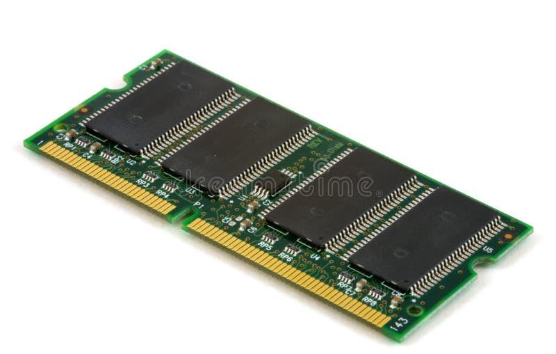 Scheda di memoria del calcolatore immagini stock