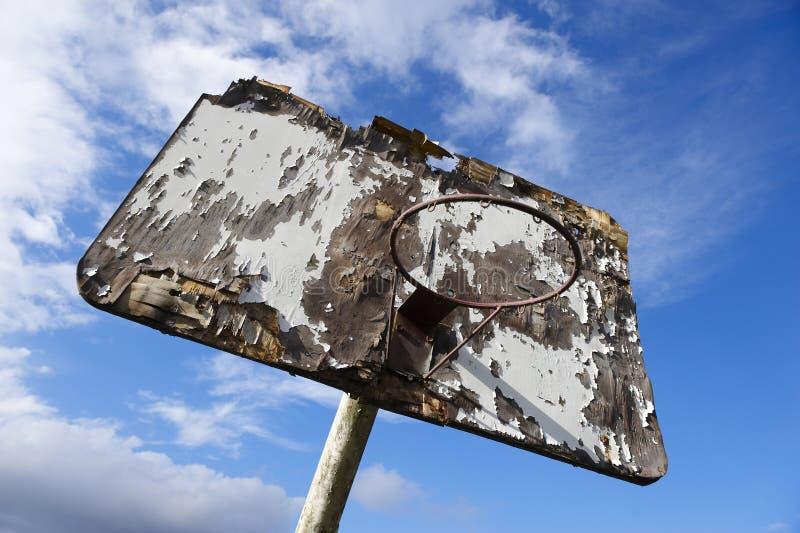 Scheda di pallacanestro fotografia stock libera da diritti