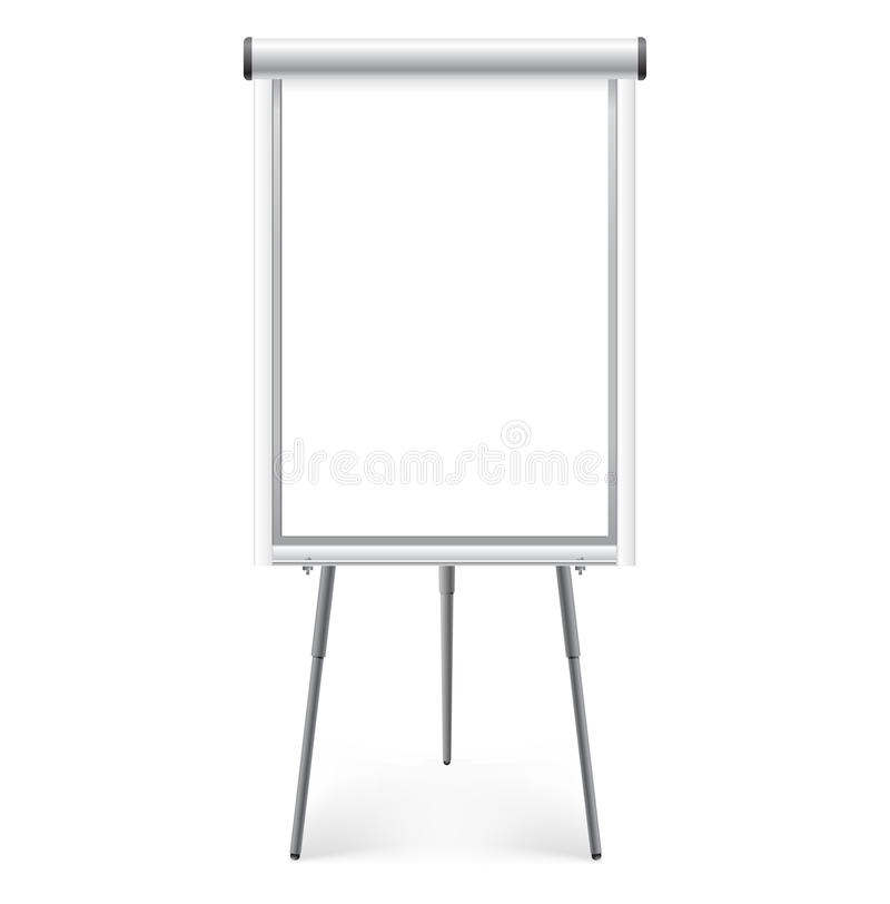 Scheda di presentazione illustrazione di stock