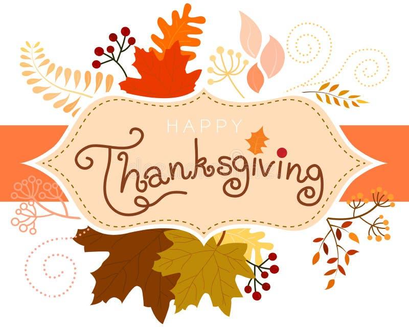 Scheda di ringraziamento immagini stock