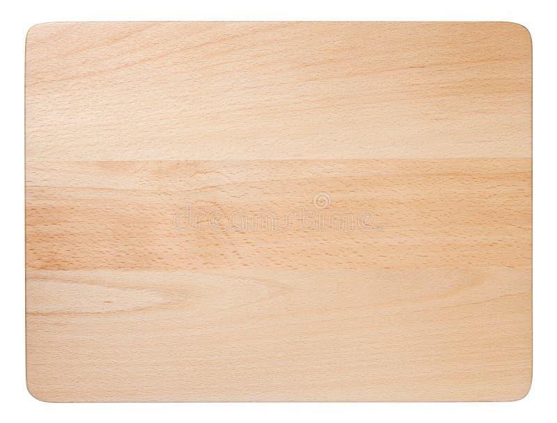 Scheda di taglio di legno fotografie stock
