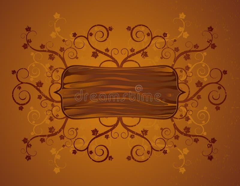 Scheda e squiggle, vettore illustrazione vettoriale