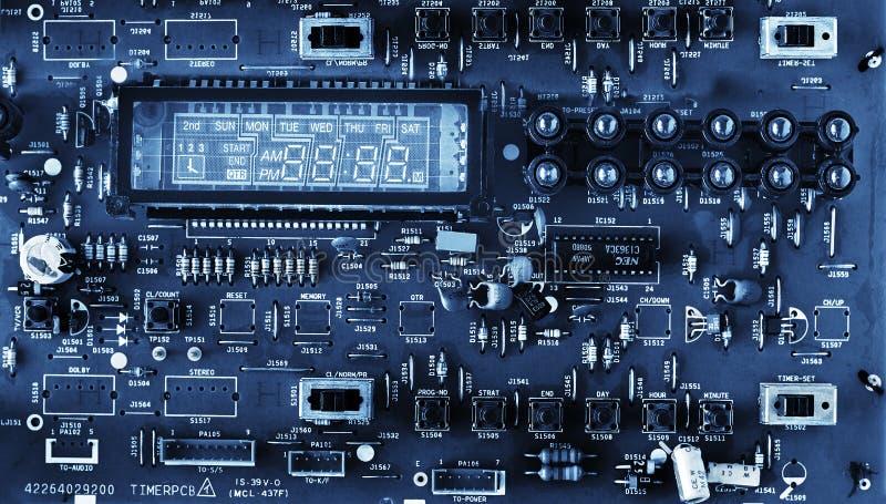 Scheda elettronica fotografie stock