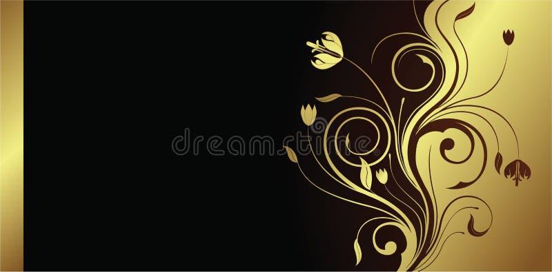 Scheda floreale royalty illustrazione gratis