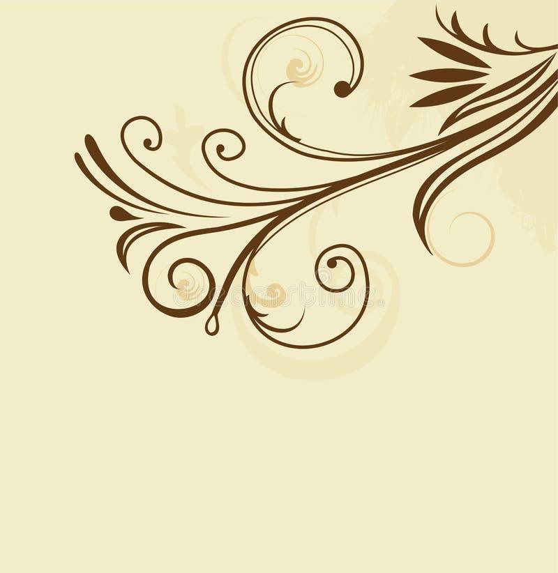 Scheda lussuosa dell'invito royalty illustrazione gratis