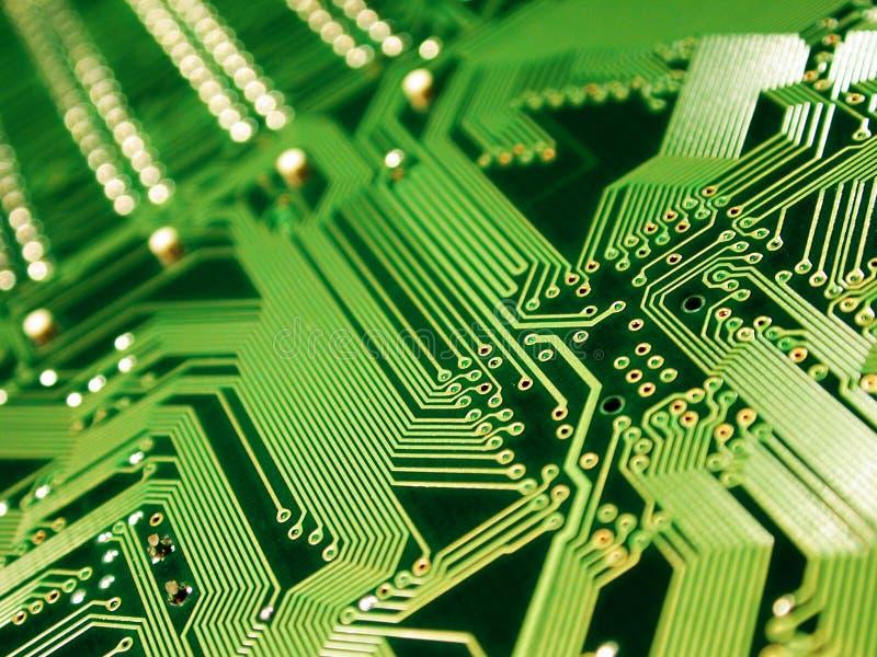 Scheda madre dell'hardware di calcolatore immagine stock libera da diritti