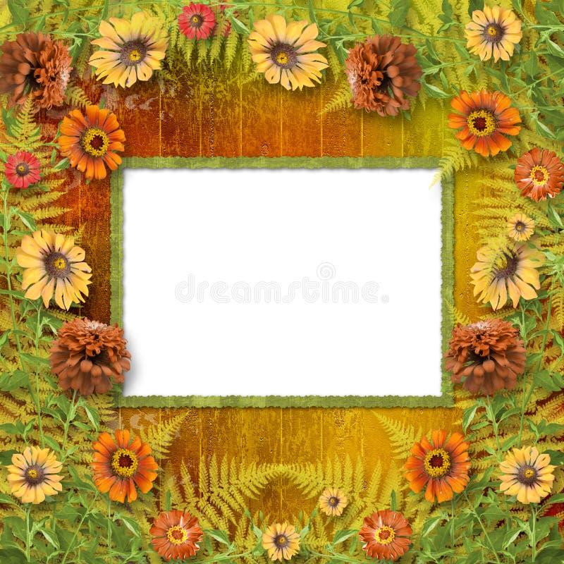 Scheda Multicoloured per i saluti royalty illustrazione gratis