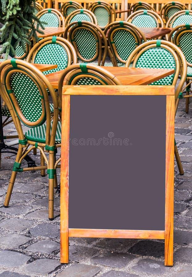 Scheda nera vuota fotografia stock