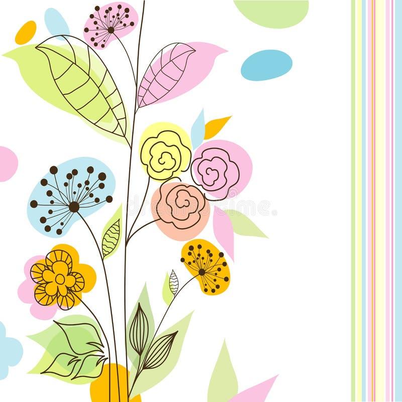 Schede dell'album per il disegno,   illustrazione di stock
