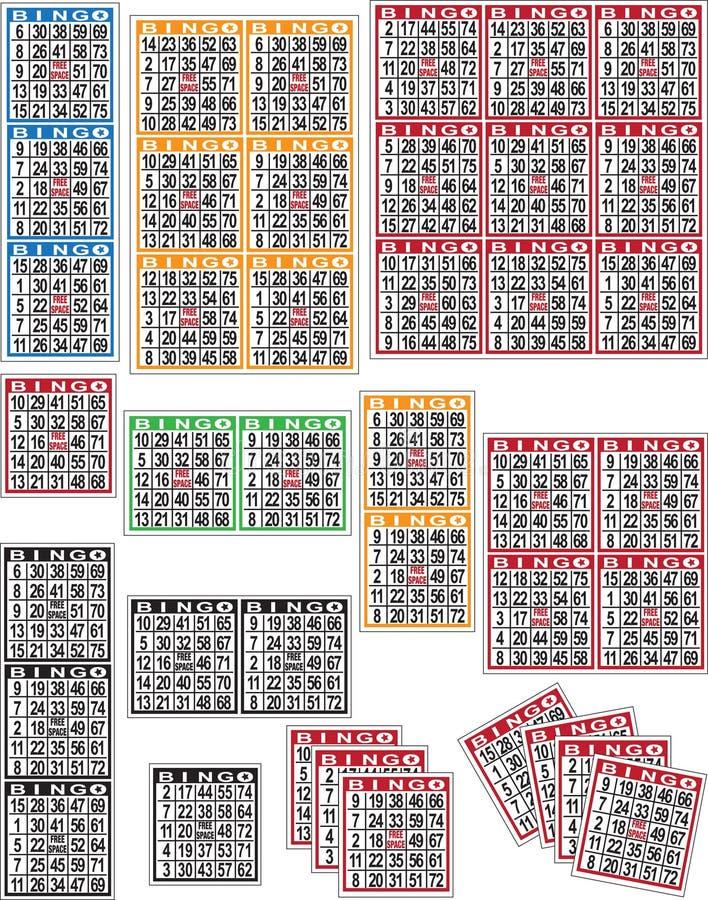Schede di Bingo