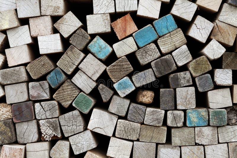 Schede di legno fotografie stock