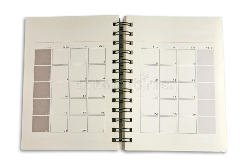 Schedule day stock photo