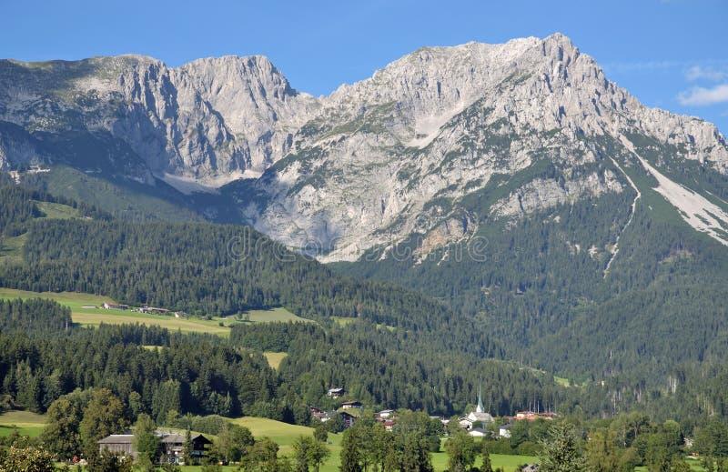 Scheffau au Tyrol, Autriche photo libre de droits