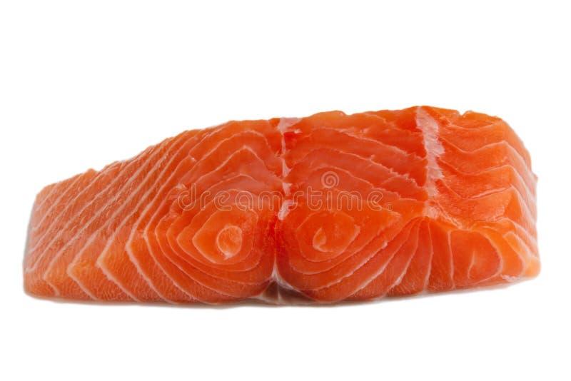 Scheibe der frischen Lachse lizenzfreie stockbilder