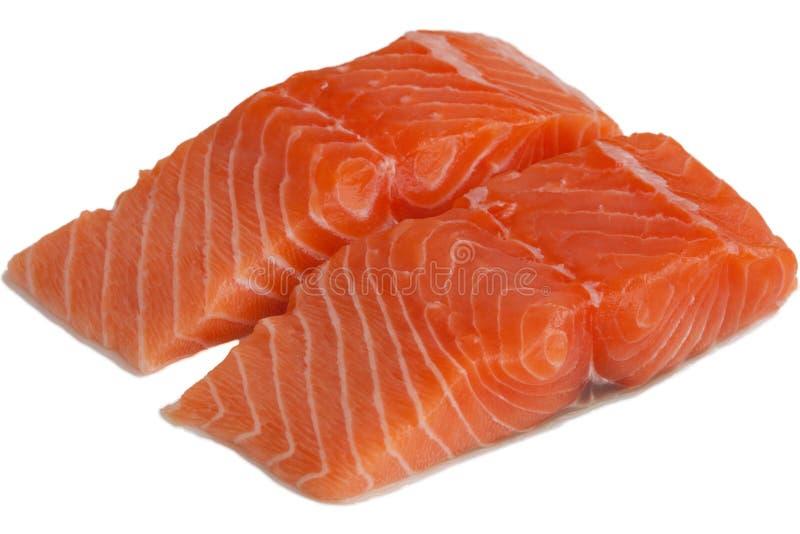 Scheibe der frischen Lachse lizenzfreies stockbild