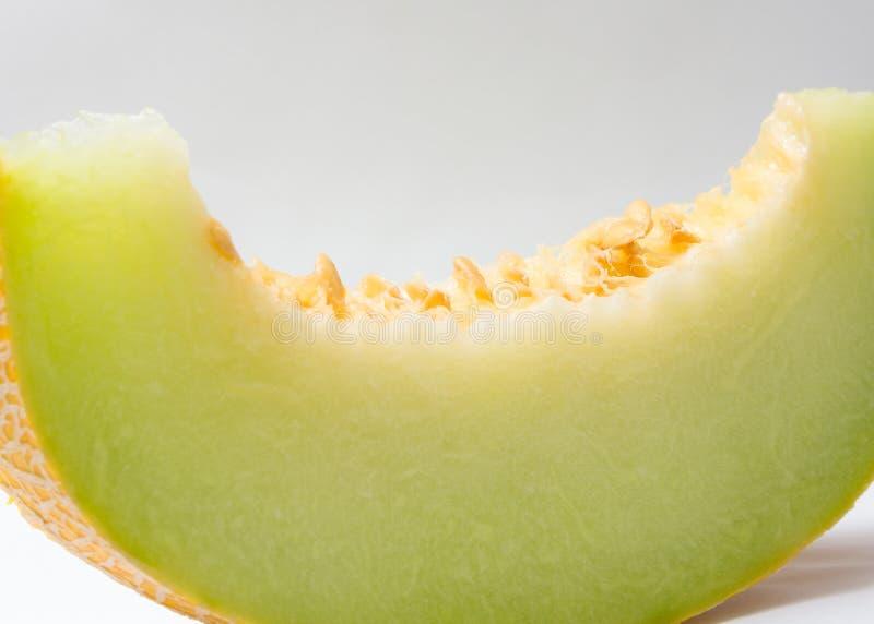 Scheibe der Melone lizenzfreies stockbild