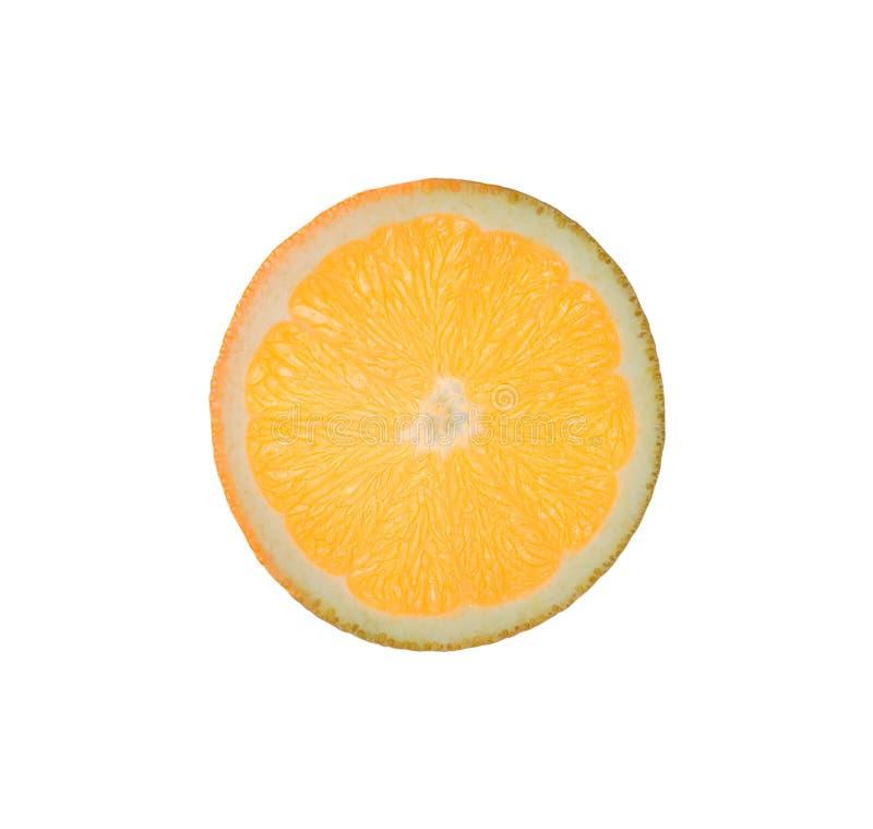 Scheibe der Orange lizenzfreie stockfotos